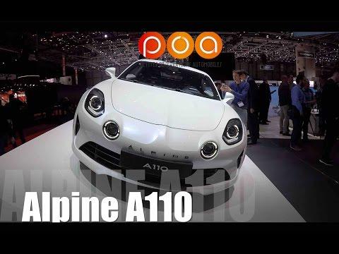Nouvelle Alpine A110 2017 - Salon de Genève 2017 4/19