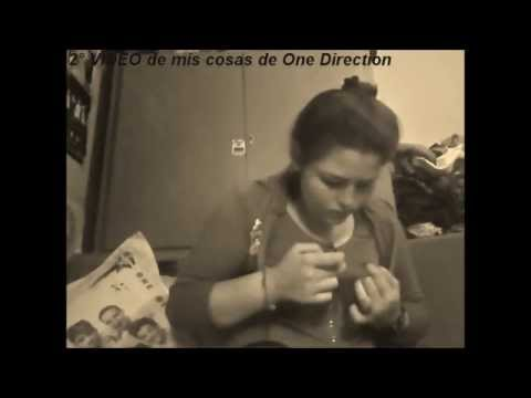 primer  video de mis cosas de One Direction