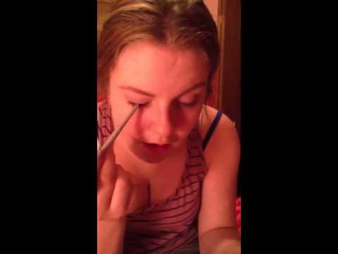 School makeup tutorial