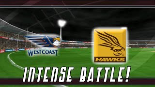 INTENSE BATTLE! (AFL 2004 Premiership Edition)
