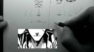 Как рисовать аниме - лица | Рисуем мангу(Вк: http://vk.com/id208514184., 2015-11-08T13:00:33.000Z)
