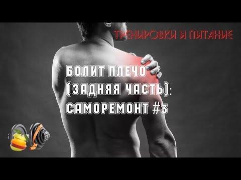 Задняя часть плеча болит