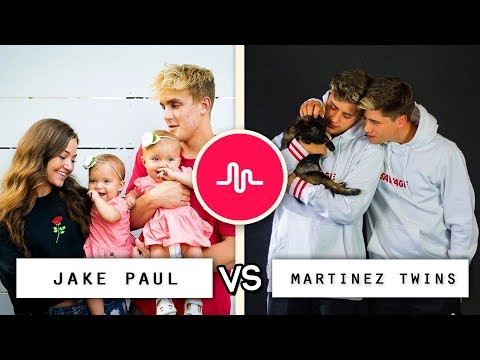 Thumbnail: Jake Paul vs Martinez Twins Musical.ly Battle (BEEF) / Who's the Best