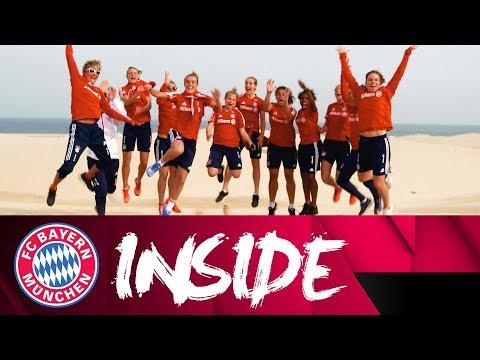 Trainingslager in Doha: FCB Frauen machen sich fit! 💪 | Inside FC Bayern