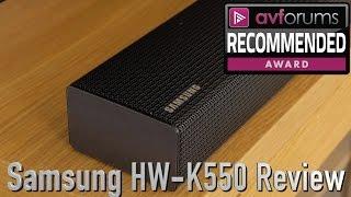 Samsung HW-K550 Soundbar Review