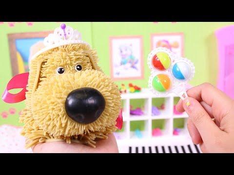 🐶 SOGGY DOGGY 🐶 Decoramos la habitación nueva de LADY DOGGY. Juguetes para niños