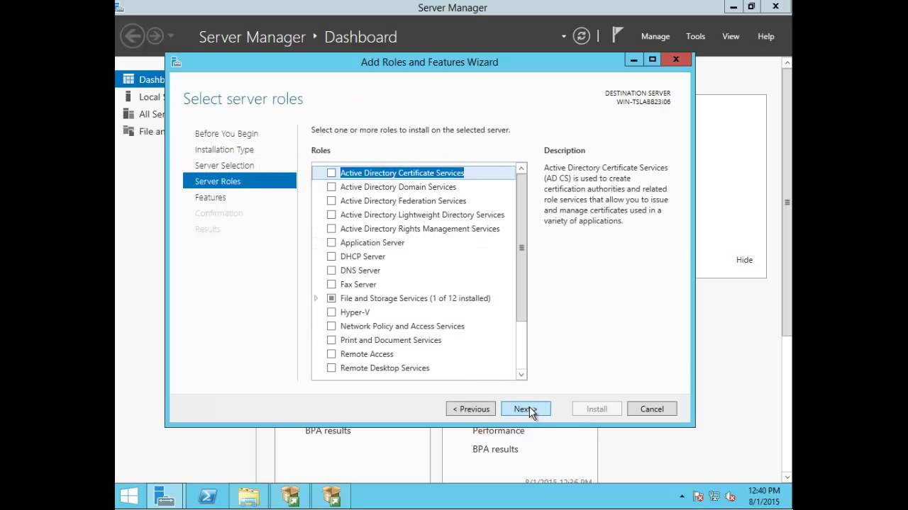 How To Install Microsoft Sql Server 2014 On Windows Server 2012 R2