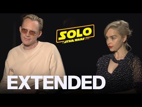 Paul Bettany Ribs Emilia Clarke For Her Bad Chewbacca Impression