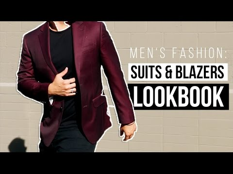MEN'S FASHION: PARTY TO BUSINESS WEAR LOOKBOOK (SUITS)