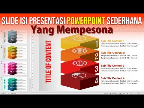 Cara Buat Slide Isi Presentasi PowerPoint yang Mempesona
