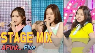 [60FPS] APINK - Five 교차편집(Stage Mix) @ Show Music Core