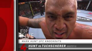 Top 5 - Mark Hunt UFC Knockouts