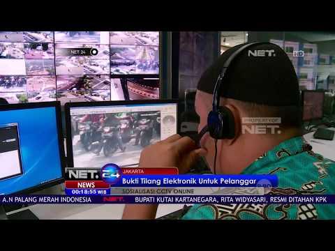 Tilang Lewat CCTV Online Mulai Berlaku di Jakarta - NET24 Mp3