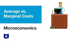 Average vs. Marginal Costs | Microeconomics