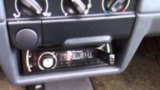 HELIX ESPRIT E 52C + Bluapunkt gt 1200 - wzmacniacz Blaupunkt GTA 2 MKII