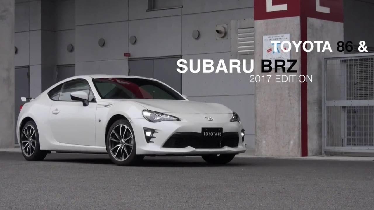 NEW: Toyota 86 and Subaru BRZ (2017) - YouTube