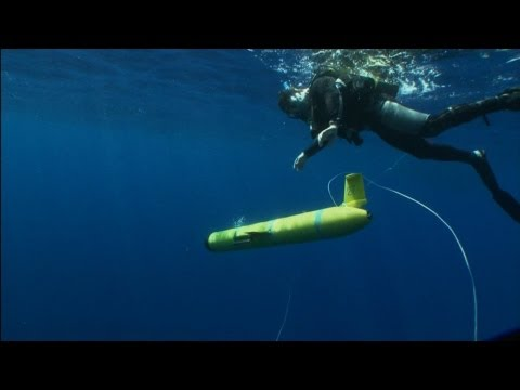 Atlantic Crossing -- A Robot's Daring Mission