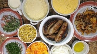 Frugal Family Feast: Creamy Polenta with Sausage