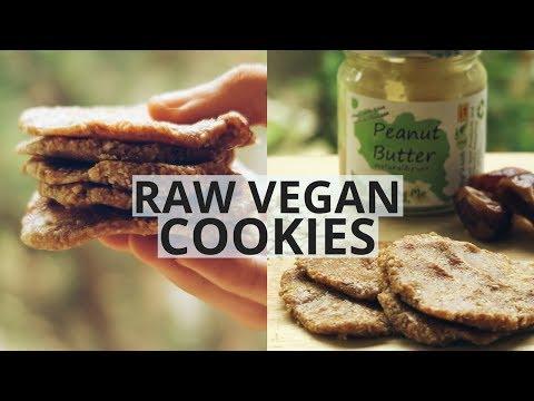 HEALTHY VEGAN COOKIES: 3 Ingredients....