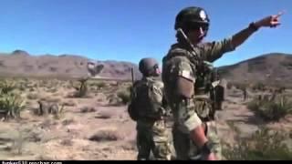 A-10 Warthog Multiple Strafing Runs in Iraq
