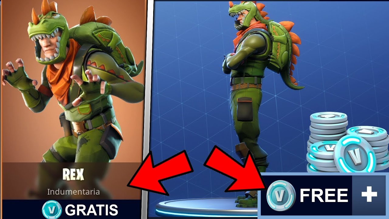 Consigue la skin rex en fortnite sorteo youtube - Rex from fortnite ...