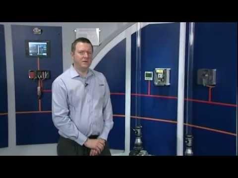 Mitsubishi Electric VSD vs. DOL energy saving live demonstration