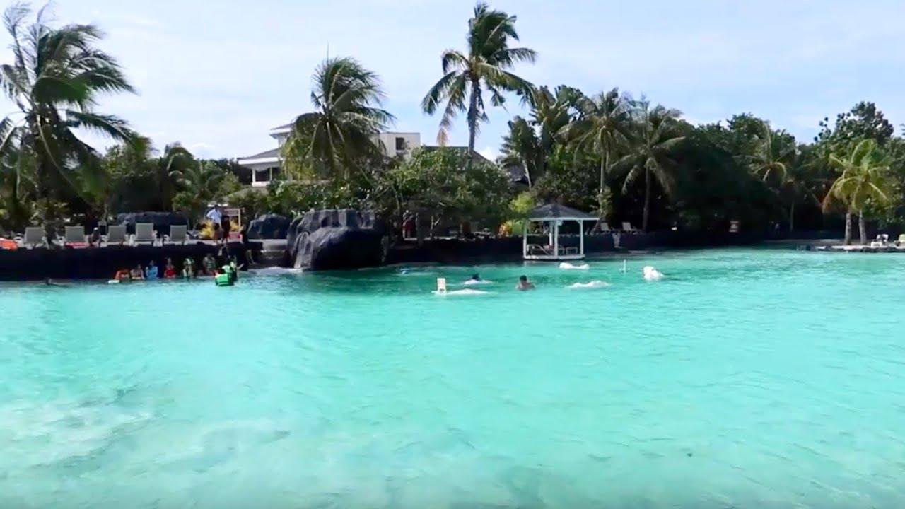 Beach Resort in Cebu   Tour Inside Plantation Bay at ...