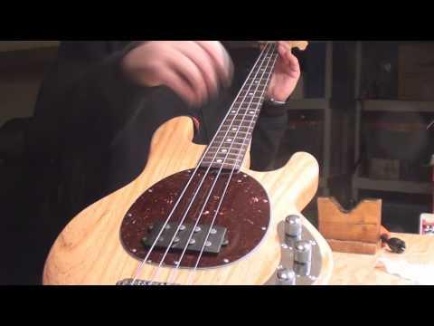 MusicMan Sting Ray Bass Truss Rod Adjustment