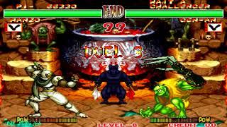 Samurai Shodown 2 - Hanzo Hattori (Arcade) Level 8