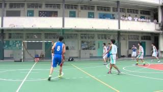 九龍體育會中學籃球聯賽 K-LEAGUE SENIOR 2015 皇仁VS陳樹渠 PT-1