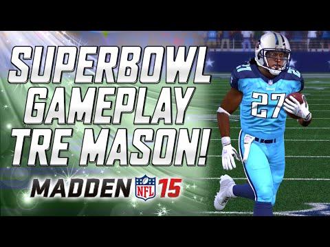 Superbowl Gameplay - Tre Mason Is Amazing! | MUT 15