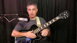 Jazz Guitar Harmony Lesson: V of V chord substitutions, Secondary Dominants, Part 1 - The Theory