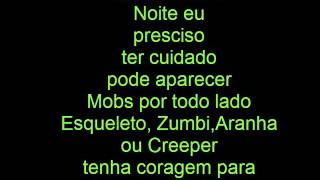 Rap do Minecraft: Tauz LETRA +Download+ XD