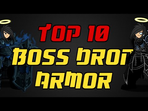 ⌠Aqw⌡ | Top 10 |【Boss Drop Armor】