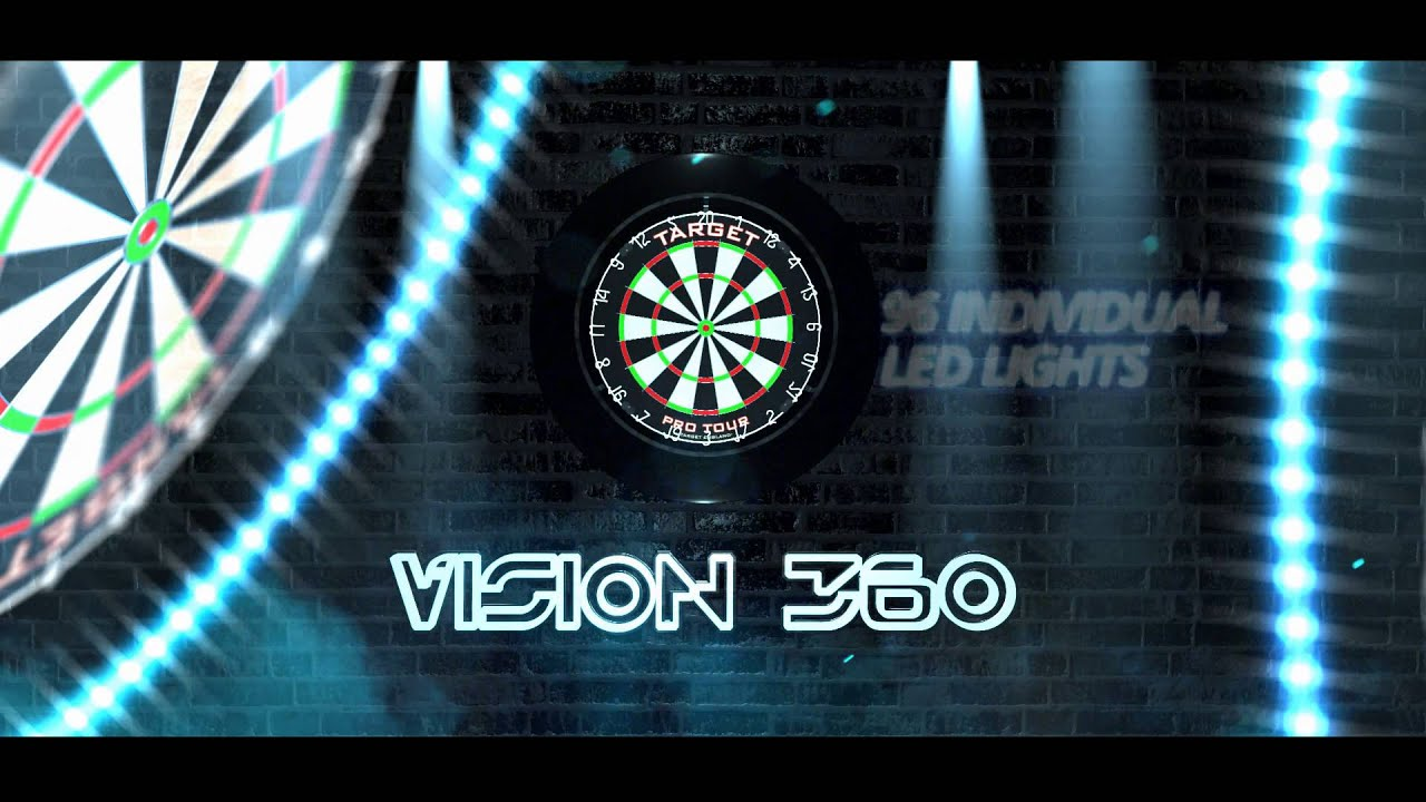 Vision 360 Dartboard Illumination System Youtube