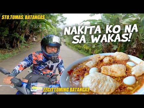 WHERE TO FIND THE LEGIT LOMI IN BATANGAS? (Food hunt ride in