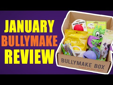 january-bullymake-review-with-special-guests!---dog-toy-review-|-bullymake-subscription-box