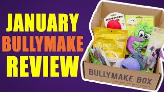 January Bullymake Review with Special Guests! - DOG TOY REVIEW | BULLYMAKE Subscription Box thumbnail