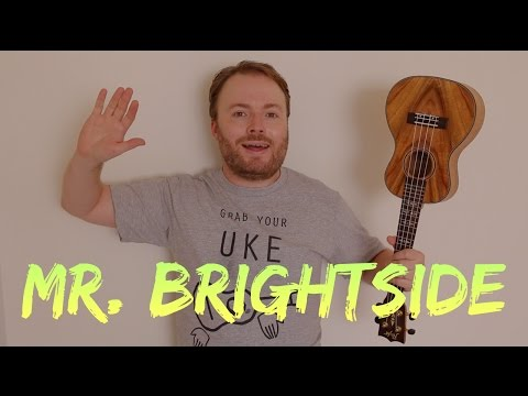 MR BRIGHTSIDE - THE KILLERS (EASY UKULELE TUTORIAL!)