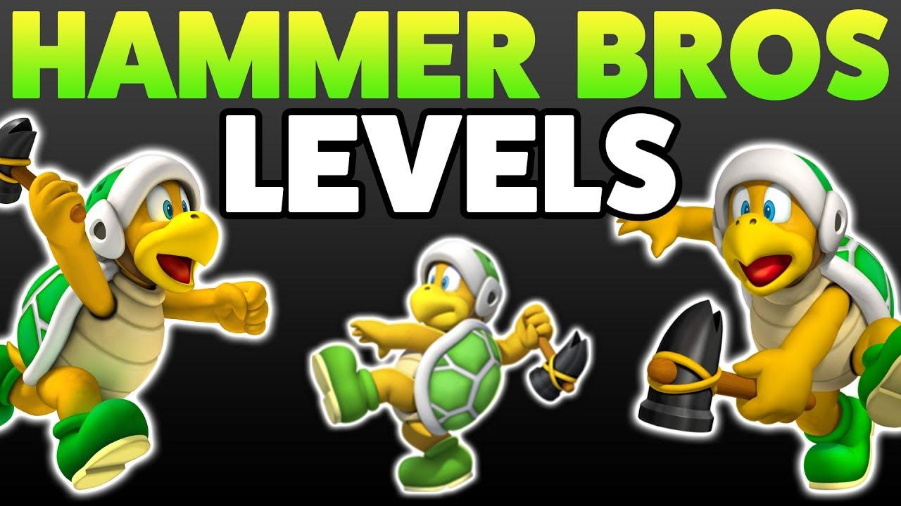 Super Mario Maker Hammer Bros Enemy Creation Challenge 4