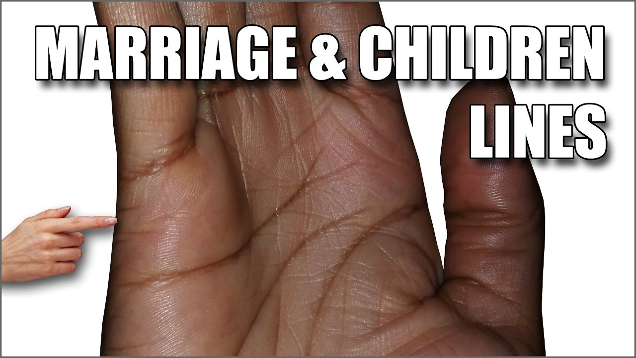 MARRIAGE & CHILDREN LINES: Female Palm Reading Palmistry #127