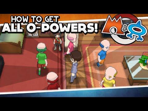 Pokémon Omega Ruby And Alpha Sapphire - Creating Mr. Bonding! [All O-Powers Guide]