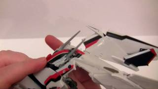 VF-25 Transformation Part 1 (Plane to GERWALK to Battriod)