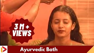 Ayurveda Bath After Oil Massage - Trisha