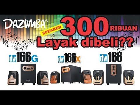 REVIEW SPEAKER DAZUMBA DW166, DW166G DAN DW166X - YouTube on
