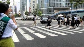 よしばみか 街頭演説⑬ 2013年7月19日 梅田新道 吉羽美華 検索動画 18