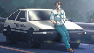 Initial D - Over Drive Remix (HD)