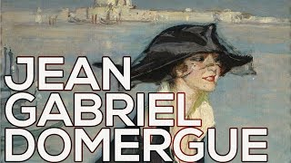 Jean Gabriel Domergue: A collection of 319 paintings (HD)