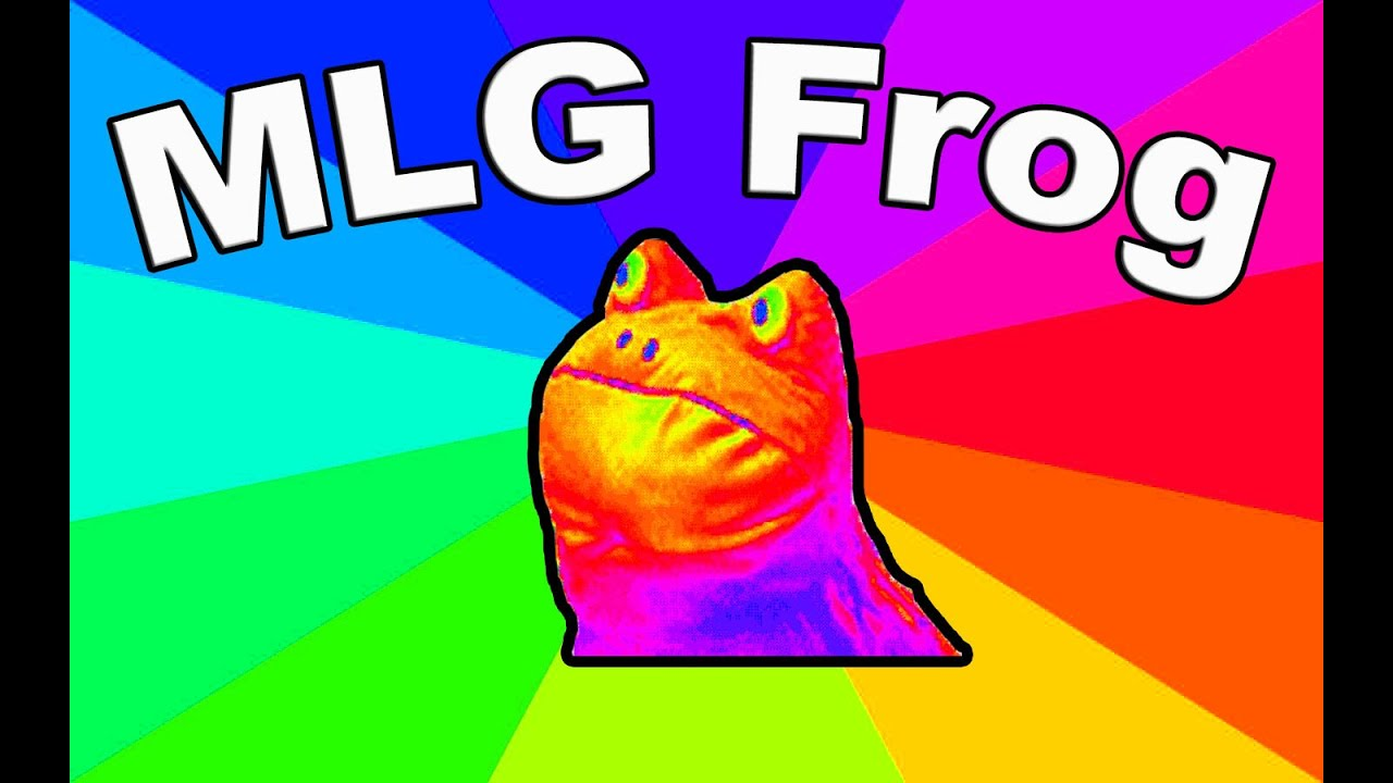 Where Is Mlg Frog From Origin Of The Get Out Frog Meme Youtube