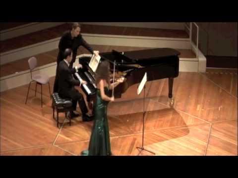Schumann - Violin Sonata  No.1 in A minor Op.105 - I. Mit leidenschaftlichem Ausdruck